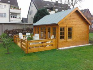 Gartenhaus als kleines Wochenendhaus
