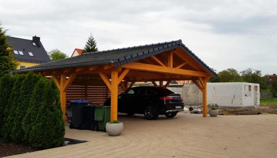 Carport aufbauen lassen