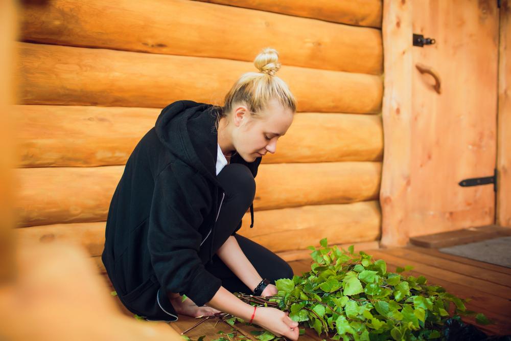 Holzsauna bauen