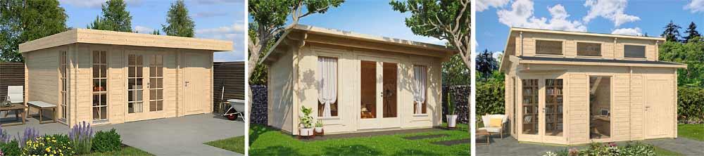 Moderne Dachformen: Flachdach, Pultdach, Stufendach