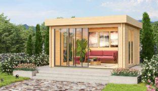 Modernes Lounge-Gartenhaus